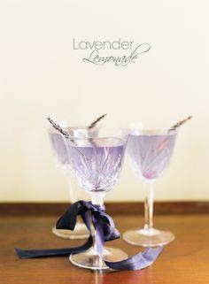 DIY Lavender Lemonade for an Elegant Summer Wedding Tipple