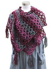 Crochet Patterns - Lovers Knot Shawl crochet pattern download from Annie's Craft Store. Order here: https://www.anniescatalog.com/detail.html?prod_id=128965&cat_id=24