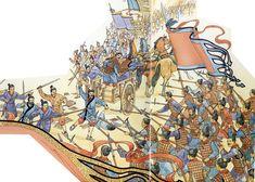 Qin army in battle