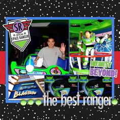 Buzz Lightyear Astro Blasters - MouseScrappers.com