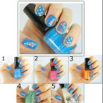 Spring Inspired Flower Nail Tutorial