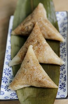 Zongzi - Rice duplings
