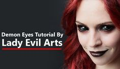How To Create Demon Eyes In Photoshop :http://psdmanips.com/how-to-create-demon-eyes-in-photoshop/