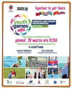 Ad Ancona gli Adriatic and Ionian Macroregion Youth Games
