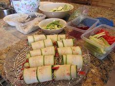 Zucchini Wraps - Eat - Naturally Savvy