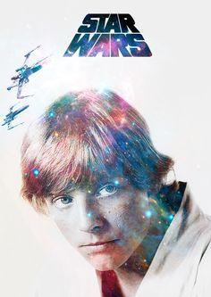 Star Wars / Luke Star Wars Luke, Original Trilogy, Long Time Ago, Far Away, Fan Art, The Originals, Stars, Film, Artwork