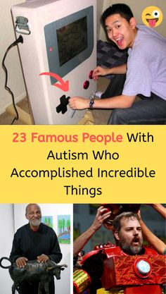 23 Famous People Who Accomplished Incredible Things While On The Autism Spectrum Funny Me, Wtf Funny, Funny Jokes, Hilarious, Famous People With Autism, Romantic Moments, Wtf Fun Facts, Girls With Glasses, Relationship Rules