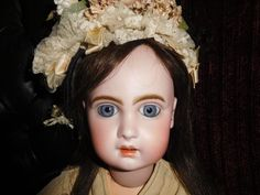 19' Antique Open Mouth Jumeau Doll Marked Head & Body