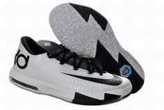 more photos ae2ff ebe93 Nike Zoom KD 6 Low Black White Kevin Durant Shoes Sale Online Shoes store  sell the cheap Nike KD VI online, it is high quality Nike KD VI sneakers  and we ...