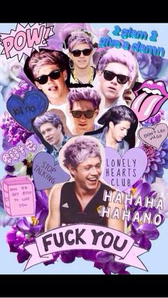 LILAC NIALL IS THE CLOSEST WE'LL GET TO PUNK NIALL <<<<<< When I saw him ... when I saw his hair I... I just can't!