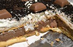Σοκολατένιο γλυκό ψυγείου με cream crackers - cretangastronomy.gr Cream Crackers, Cheesesteak, Sweet Home, Pie, Ethnic Recipes, Desserts, Food, Torte, Tailgate Desserts