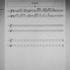 Began composing  I dont know what to name it yet so... Oi. #music #composing #composition #flute #duet #sheetmusic #instalike #instadaily #lfl #sfs #instamusic #notation #software #IT #cute #cool #l4l #f4f #love #romantic #song #work #노래 #사진 #인스타그램 #데일리 #놀자 #좋아 by mely.gif