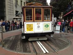 Powell Street Cable Car Turnaround en San Francisco, CA