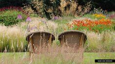 planting design by Piet Oudolf (photo by Hans van Horssen) Prairie Planting, Prairie Garden, Meadow Garden, Woodland Garden, Plant Design, Garden Design, Portland House, Gravel Garden, Low Maintenance Garden