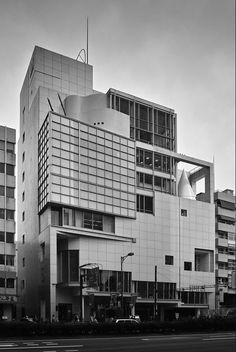 spiral house   1985    Aoyama, Tokyo, Japan   Fumihiko Maki
