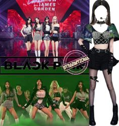 Blackpink Fashion, Kpop Fashion Outfits, Girls Fashion Clothes, Stage Outfits, Edgy Outfits, Cute Casual Outfits, Girl Outfits, Savage Clothes, Korean Outfits Kpop