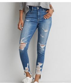 AEO Denim X Hi-Rise Jegging $59.95