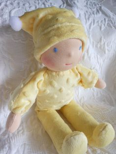 Babies First Waldorf Doll by Jemilynndolls Ready To Ship.