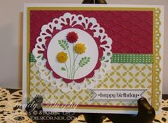 Stampin Up Birthday Embellished Events