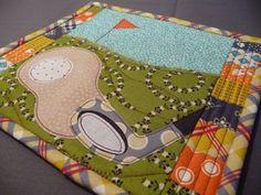 Golf Mug Rug by scrapnchick, via Flickr