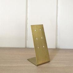 Brass Earring Stand