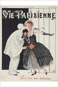 Georges Léonnec (1881 – 1940). La Vie Parisienne, 5 Mars 1930. [Pinned 23-vii-2015]