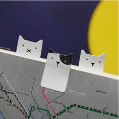 The *Baby Cat Index Sticky Note* is a really cute and well made sticky note! The Baby Cat Index Sticky Note can be used for to mark a page in a book, to take notes on, and so much more! Please check out the photos to learn more!   Each purchase ...