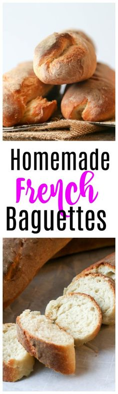 Homemade French Baguettes   french baguettes   baguette tutorials  baguettes   french bread