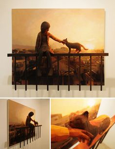 Amalgamation Of 2D And 3D Art By Shintaro Ohata