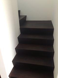 Meer dan 1000 afbeeldingen over overtreffende trap op pinterest houten treden houten trappen - Hout deco trap ...