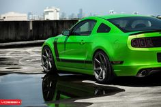 Boss 302 Mustang- I love the crazy green. Not every day, but for a toy.