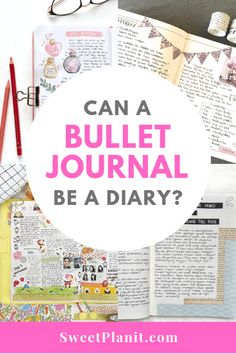 Make your bullet journal function even more! Use it as a diary, too! Bullet Journal Goals Page, Goal Journal, Bullet Journal Font, Bullet Journal Hacks, Journal Diary, Bullet Journal Inspiration, Journal Pages, Bullet Journals, Journal Ideas