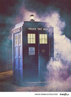 The Tardis is very photogenic for a box.