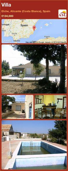 Villa in Elche, Alicante (Costa Blanca), Spain ►€134,000 #PropertyForSaleInSpain