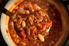 Make this fast and easy spicy turkey chili recipe as a lighter alternative to beef chili. Using chili powder, cayenne pepper, and ground cinnamon, this recipe...