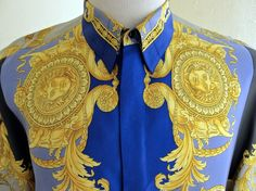 gianni versace silk shirts men