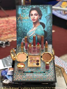 Disney Aladdin x MAC Launch Event Was A Dream Come True - Disney Aladdin x MAC Launch Event Was A Dream Come True Best Picture For diy face mask sewing patt - Disney Aladdin, Aladdin Movie, Disney Inspired Makeup, Disney Makeup, Makeup Kit, Skin Makeup, Beauty Makeup, Drugstore Beauty, Makeup Case