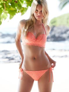 The Lace Getaway Halter - Beach Sexy - Victoria's Secret