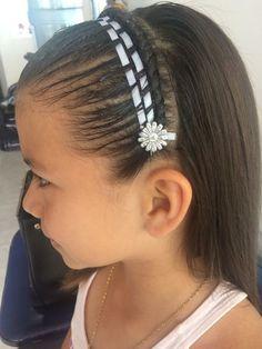 Peinados para Niña Faciles y Rapidos Paso a Paso. Actualmente las niñas quieren estar al tanto de la moda y todo esto lo toman del entorno en que viven,el internetlos… Cute Hairstyles, Diana, Braids, Hair Styles, Makeup, Internet, Fashion, Dresses, Cute Girls Hairstyles