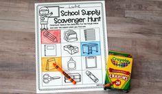 School Supply Scaven