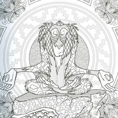 Lion king adult coloring page Lion Coloring Pages, Coloring Pages For Grown Ups, Printable Adult Coloring Pages, Cartoon Coloring Pages, Disney Coloring Pages, Coloring Pages To Print, Coloring Books, Mandala Disney, Disney Colors