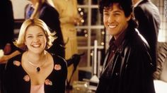 """Adam Sandler and Drew Barrymore (Robbie and Julia) in The Wedding Singer. """" I wanna make you smile whenever you're sad, carry you around when your arthritis is bad, all I wanna do is grow old with you"""". Romantic Comedies On Netflix, Best Romantic Comedies, Romantic Movies, Adam Sandler Drew Barrymore, Best Wedding Registry, Affordable Wedding Photography, Wedding Movies, Movie Couples, Film Inspiration"""