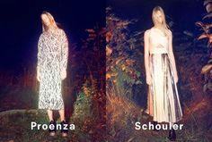 Proenza Schouler Ad Campaign Spring/Summer 2014