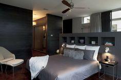 tête de lit rangement, casiers de tête de lit