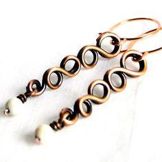 Wire Wrapped Jewelry Handcrafted Modern Jewelry by KariLuJewelry, $23.00