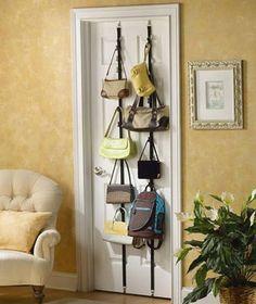 21 More Practical Bag Storage Ideas | Shelterness