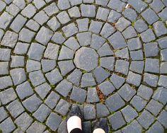 Ground Russia flower circle