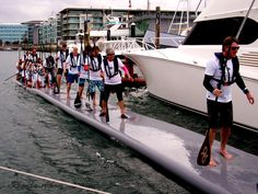 After completing a New Provisional SUP World Record at Auckland Viaduct Harbour on Sept 27 2014
