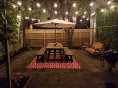Ana White | Outdoor truss table and benches - DIY Projects