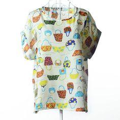 Available in Large Sizes Style Vintage Female T Shirts Heart O-Neck Plus Size Blusas Feminina Woman Top Tee roupa feminina Casual T-Shirt Women
